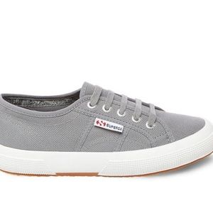 Superga Cotu lace up sneakers shoes sage grey 40 9